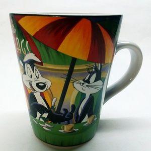 "Vintage! SIX FLAGS ""Pepe Le Pew"" WARNER BROS Mug"